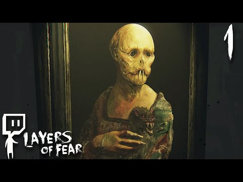 Let's Play ► Layers of Fear [Full Release] - Part 1 - A Beautiful Canvas [Twitch Facecam]