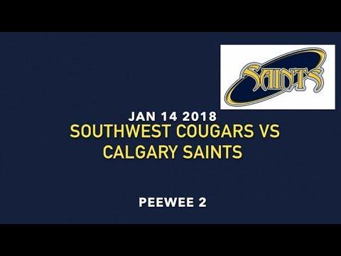 Peewee 2 Southwest Cougars VS Calgary Saints