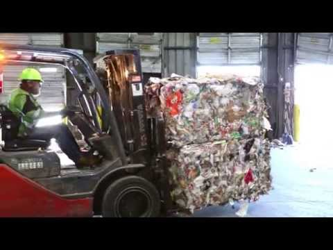OCRRA  How recyclables are sorted in Onondaga County