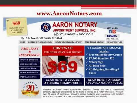 How to become a notary public inc florida youtube how to become a notary public inc florida ccuart Choice Image