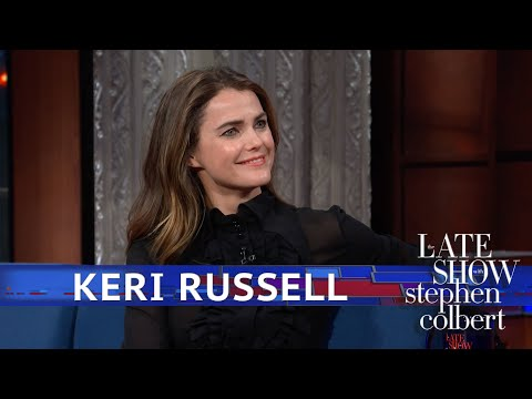 Stephen Colbert tries to extract Star Wars: Episode IX spoilers from Keri Russell