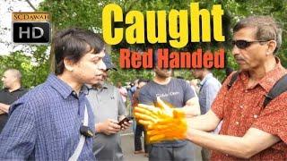 Caught Red Handed! Mansur Vs Strange Guy | Old is Gold | Speakers Corner | Hyde Park