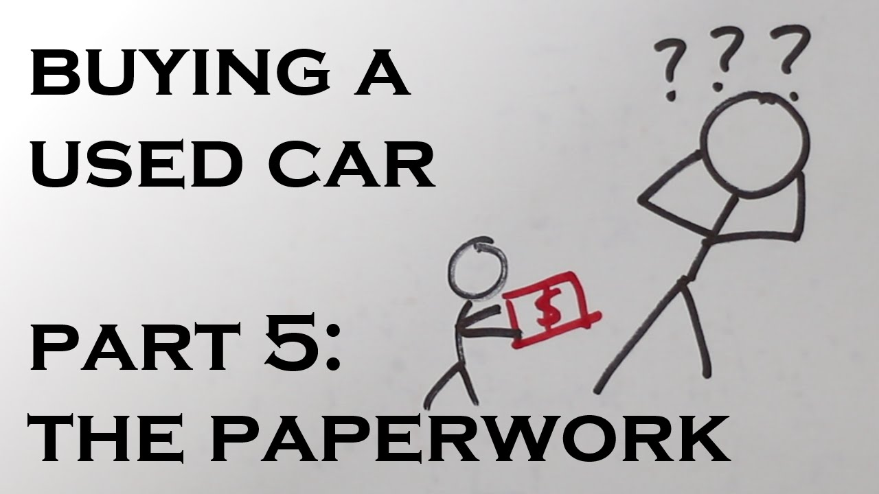 Online writing lab documents you need to buy a used car for Documents you need to buy a car