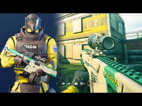 RAINBOW SIX SIEGE - LION GAMEPLAY (New Operation Chimera DLC)