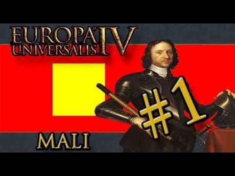 Let's Learn Europa Universalis IV – Rule Britannia -  Mali - Part 1