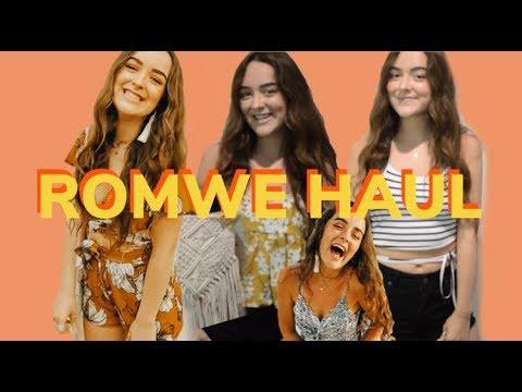 ROMWE HAUL | matty rush