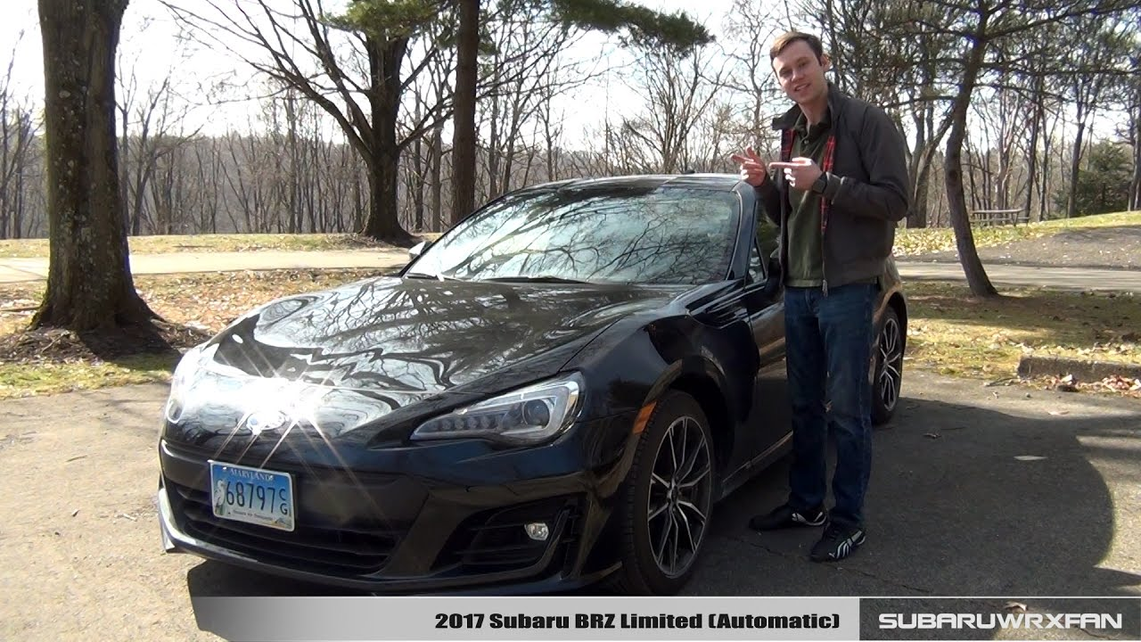 Review 2017 Subaru Brz Limited Automatic