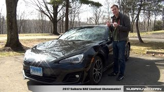 Review: 2017 Subaru BRZ Limited (Automatic)