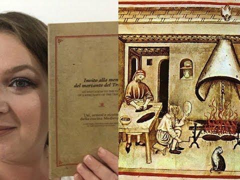 La Cucina Medievale Attraverso Il Mercante Del 300 E I Taccuini Dell Epoca Youtube