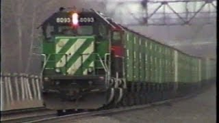 CSX in Upstate NY 2000 - Part 4