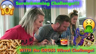 Surströmming Challenge!! Stinkiest Food in the WORLD!!