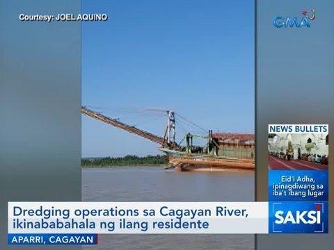Saksi: Dredging operations sa Cagayan River, ikinababahala ng ilang residente