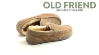 Old Friend Footwear Lodge Moc Slippers - Sheepskin Lining (For Men)