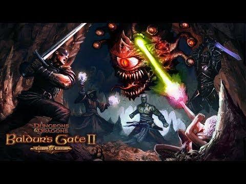 Baldur's Gate II Enhanced Edition создание персонажа, мини гайд для новичков.