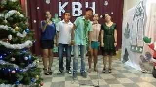 Школа при Посольстве России в Анголе. Новогодний КВН 2013. Домашнее задание 10 класса
