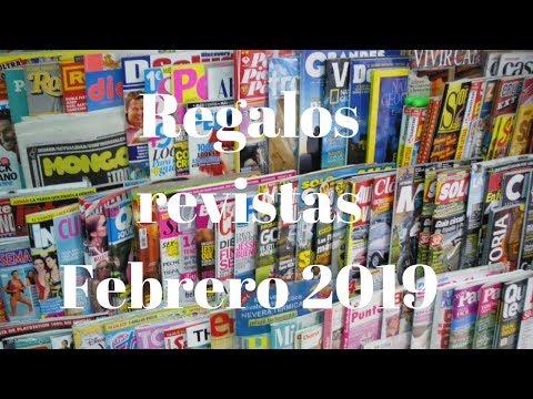 Regalos revistas febrero 2019