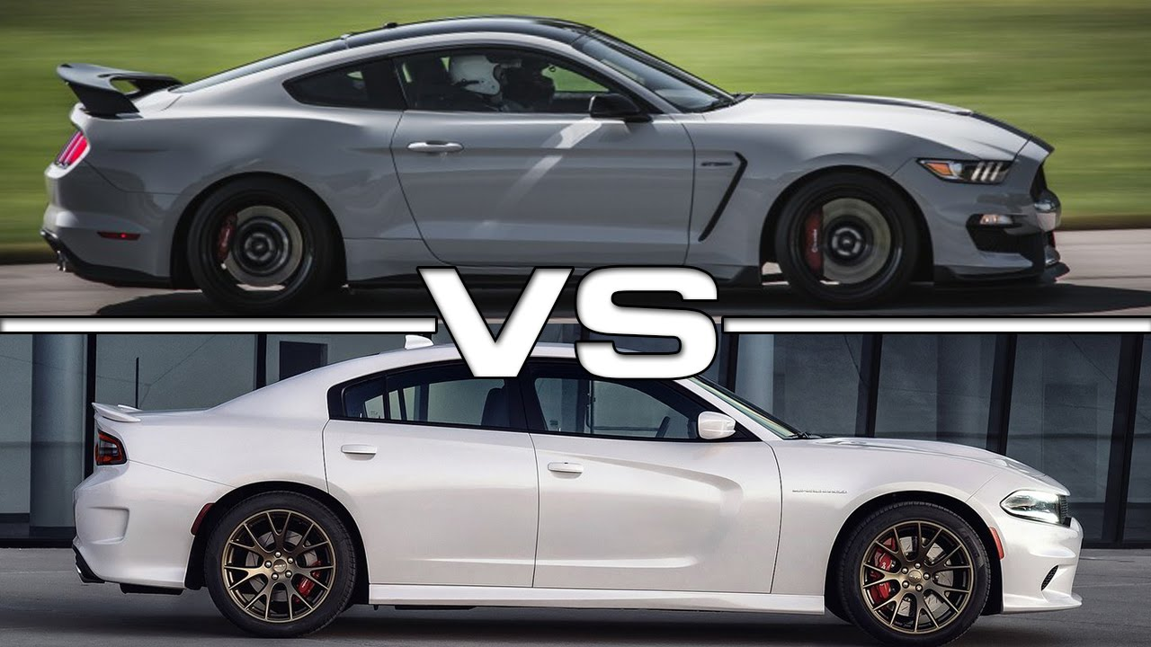 2017 Mustang Shelby Gt350 Black >> 2016 Shelby Mustang GT350R vs 2016 Dodge Charger SRT ...