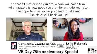 Diverse and Inclusive Leaders #70 - Commodore David David Elford OBE (Preview)