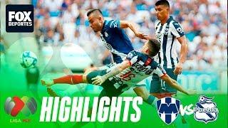 Monterrey 3-2 Puebla | HIGHLIGHTS | Jornada 10 | Liga MX