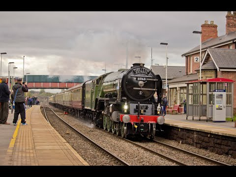 A1 no.60163 'Tornado' with 'The Tees-Tyne Express' - Saturday 7th October 2017