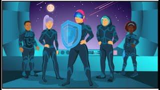 SANS Security Awareness Illustrative Design