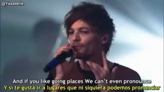One Direction - Perfect (London Session) [Lyrics + Sub Español]