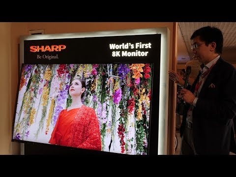 "Sharp Launch 70"" 8K TV-Monitor in Europe at IFA GPC 2018"