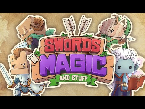 Swords 'n Magic and Stuff Announcement Trailer