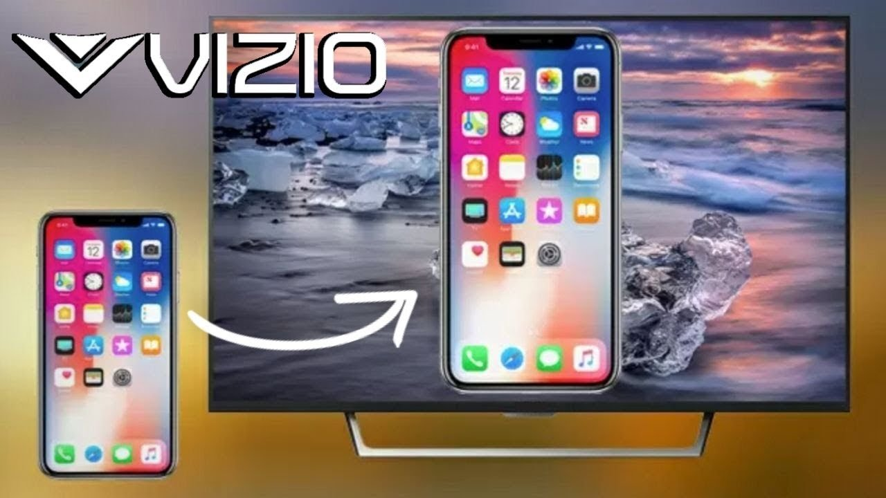 How To Mirror Your iPhone to Vizio TV