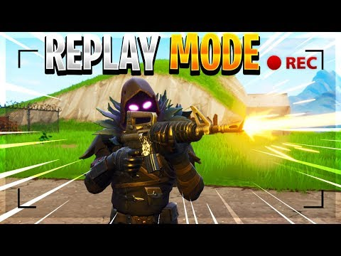 *NEW* FORTNITE REPLAY MODE! - How To Use Replay Mode In Fortnite: Battle Royale