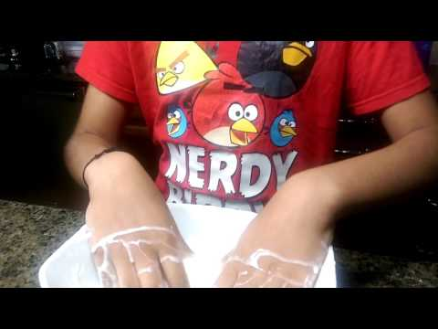 Playing with Oobleck + tricks to try at home with oobleck