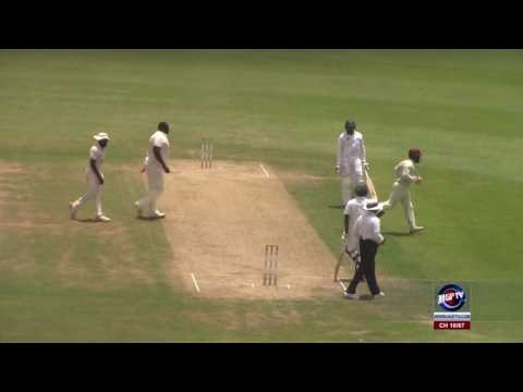 Guyana vs Leewards. 1st day match report. PCL 4-day 10th round