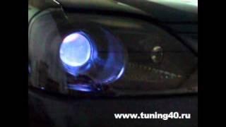 Тюнінг оптики Рено Логан, встановлення бі-лінз