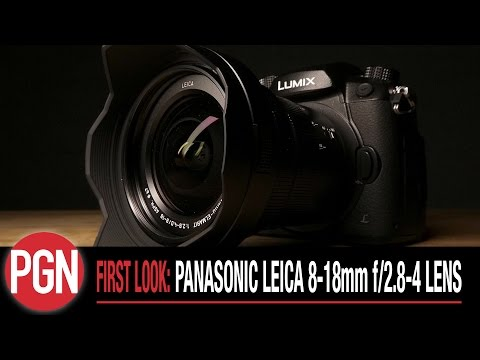 FIRST LOOK: Panasonic Leica 8-18mm f/2.8-4 lens for Micro Four Thirds