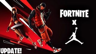 Fortnite X Jordan Update Gameplay! (Fortnite New Update)