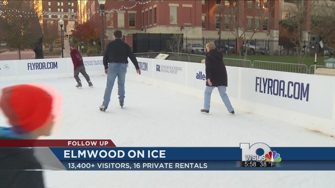 Elmwood park ice skating success - YouTube