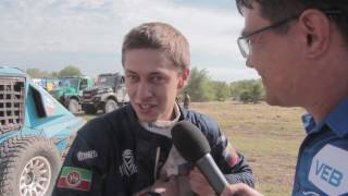 "Команда ""КАМАЗ-мастер"" на Дакаре 2017 - 14 января Video"