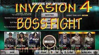 WWE IMMORTALS ZOMBIE INVASION 4 BOSS FIGHT