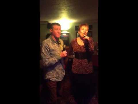 Marie Fenn and Mr G Shrubs Karaoke