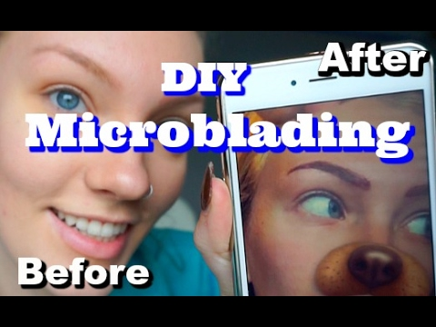 DIY microblading is trending and professionals are cringing