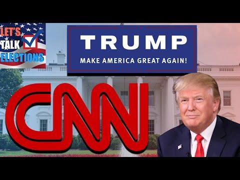New CNN Poll Shows Trump +7 In Battleground States