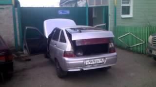 видео гремит крышка багажника ваз 2112