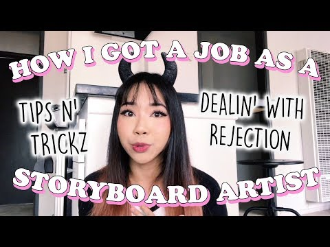 HOW I GOT A JOB IN ANIMATION