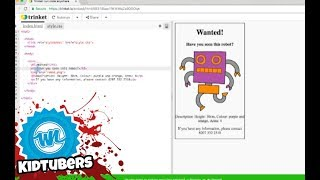 How to Make a Wanted Poster in HTML! | Amelia Cracks the Code