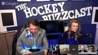 The HockeyBuzzCast Trade Deadline Show Live 2015