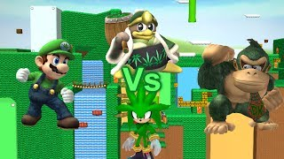 Super Weed Brothers Brawl: The battle for the Weed