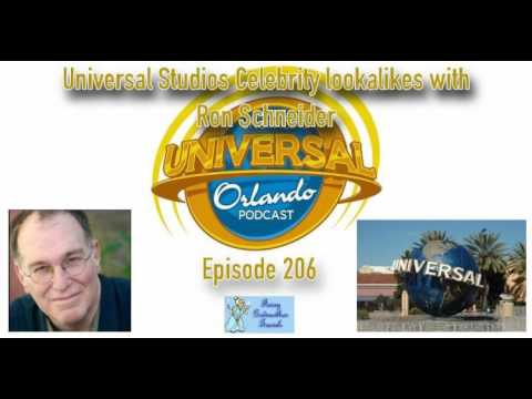 Unofficial Universal Orlando Podcast  #206 - Universal Studios Florida Celebrity lookalikes with...