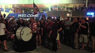 U.S. Watch Party At Tampa Bay Times Forum: Goal Reactions