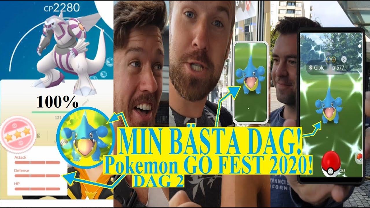 Pokemon GO på Svenska | Pokemon GO FEST 2020! Team GO Rocket! | SHINY GIBEL! |#1| Johans Pokemon GO