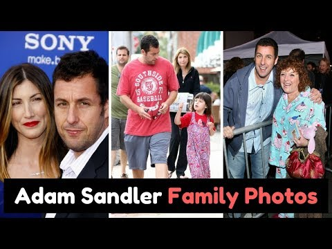 Actor Adam Sandler Family Photos with Wife Jackie Sandler, Daughters Sadie & Sunny Sandler, Parents